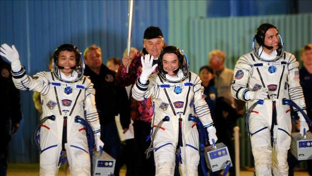 News video: Olympic Torch Blasts Off Into Space